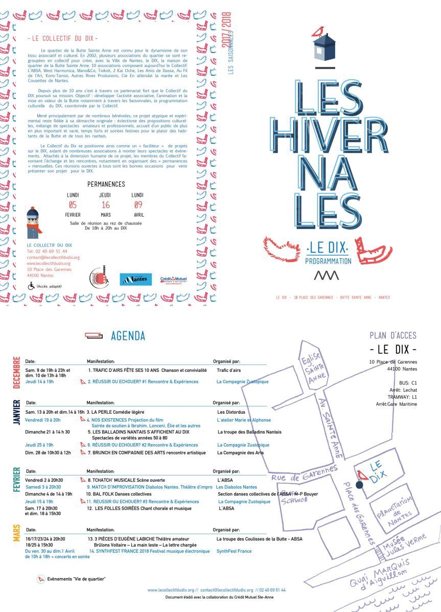 Les Saionnales du DIX-Hivernales 2017-2018 (r)